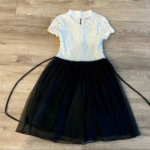 SPEECHLESS SZ 10 GIRLS PARTY DRESS LACE & TULLE